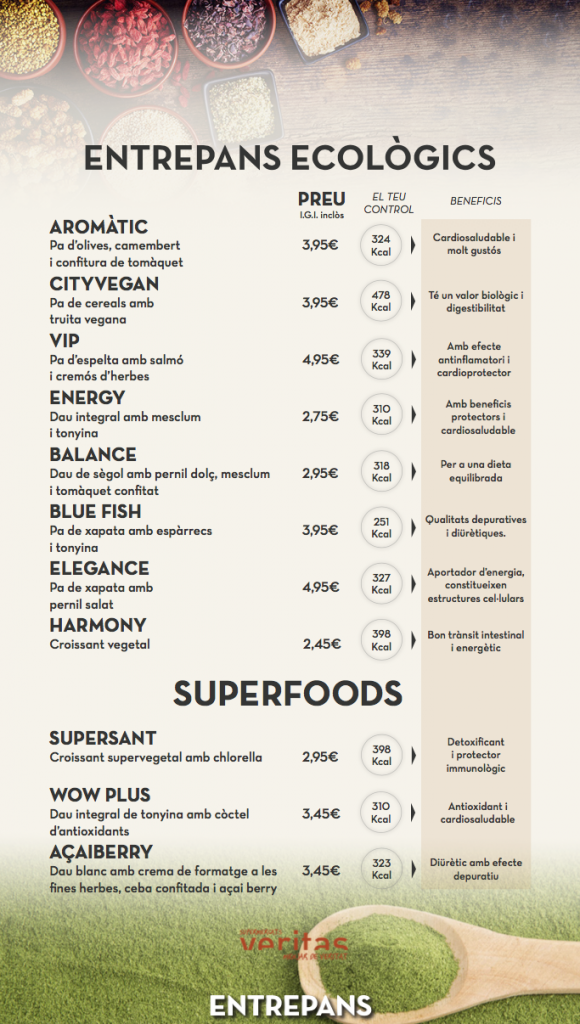 Entrepans Ecològics i Superfoods
