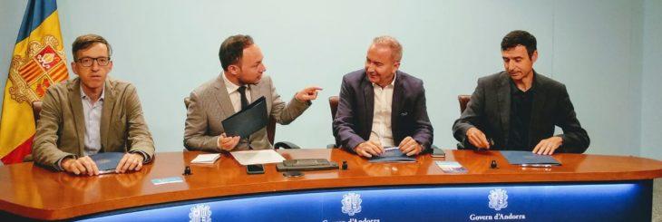 Signatura conveni Xarxa d'empreses inclusives