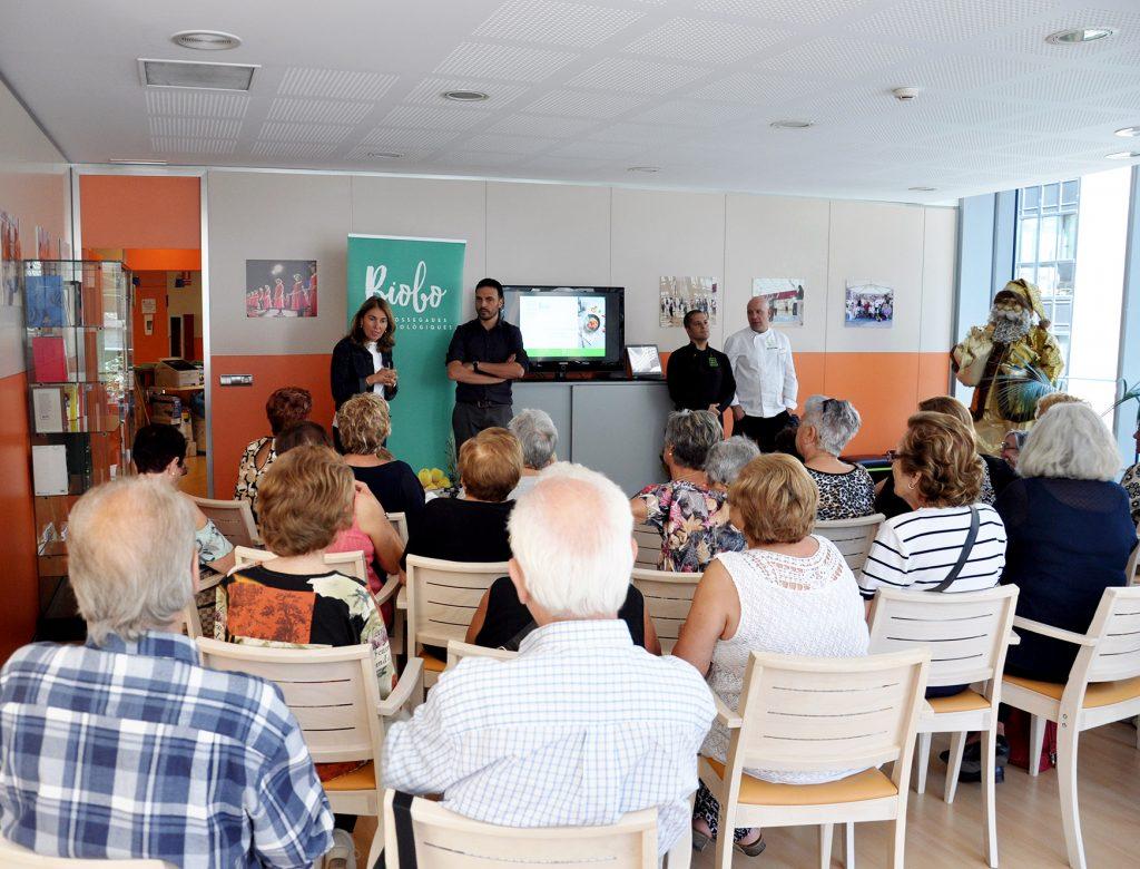 BIOBIO integra un menú 100% ecològic a la Llar de Jubilats d'Escaldes Engordany