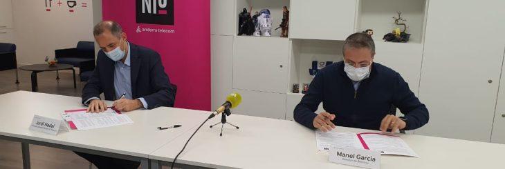 Hive Five i Niu acord Bomosa i Andorra Telecom